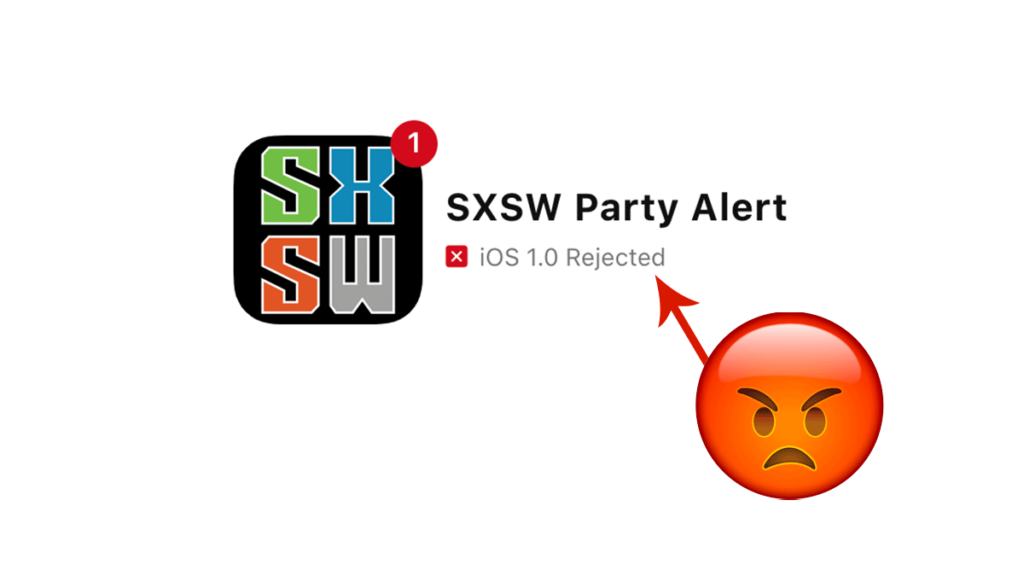 iOS app rejection reasons